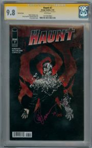 Haunt #7 Variant CGC 9.8 Signature Series Signed Greg Capullo Image comic book